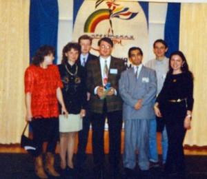 My friends from Talk Club at Beautifil Pery Fashion Week, 1996